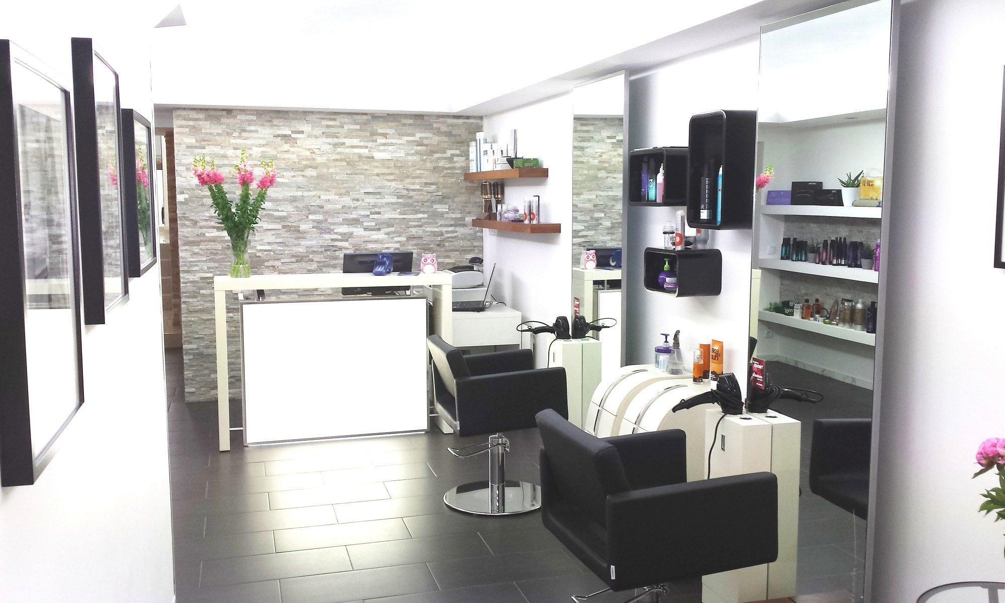 Friseur Salon Eingang